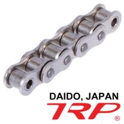 chain rantai SS stainless steel chains TRP Daido Japan
